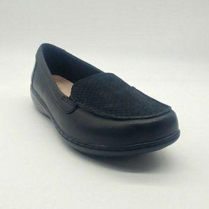 Clarks Womens Ashland Jam Slip On Loafers Shoe